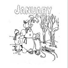 Winter 4 Coloring Pages Book