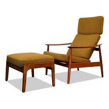 Vintage Arne Vodder FD-164 Lounge Chair & Ottoman