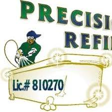 precision refinishing bathtub refinishing liner specialist