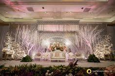 HuE Decoration And Lightworks For Raymond Karinas Wedding Reception At JW Marriot Jakarta