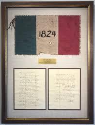 Alamo Flag & Letter
