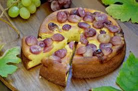 joghurtkuchen mit safran und trauben profumo di frangipani