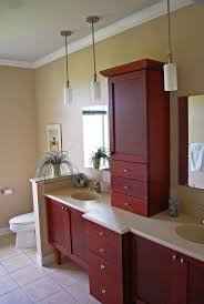 Bathroom Vanity Tower Cabinet by 97 Best Cherry Wood Vanities Images On Pinterest Bath Vanities