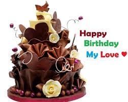 Beautiful Birthday Cake Wishes For Love