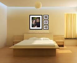 Ideas To Decorate Bedroom Walls Fascinating Alluring Modern Master Decorations With Nice Photo Images Collections Of Platform Bed