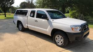 100 Toyota Tacoma Used Trucks 2015 TOYOTA TACOMA WORK UTILITY PEST TRUCK WHITE ARE TOPPER USED FOR SALE INFO WWWSUNSETMOTORSCOM