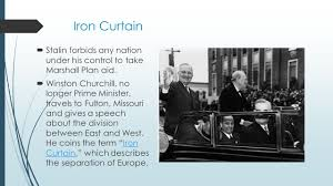 Churchills Iron Curtain Speech Analysis by Ending Wwii Beginning Of A New Era Yalta Conference In
