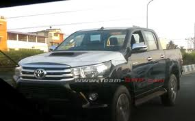 100 Hilux Truck Toyota Pickup Spied Testing In India A Possible Future