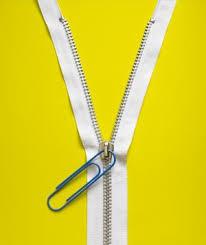 Paper Clip Zipper Pull