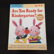 Kumon Paper Cutting Activities Book For Age 4 5 Books Stationery