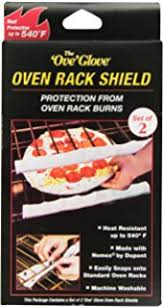 Amazon JAZ Innovations Oven Rack Guard Double Pack Home
