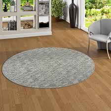 details zu streifenberber teppich modern stripes anthrazit rund