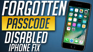How to remove Forgotten Password from iPhone 8 7 & 7 Plus