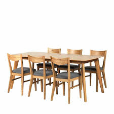 retro essgruppe inkl 6 stühle stepano 7 teilig