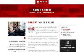 Arrow Trucks & Parts Co. - Formcode, Detroit Web Design - A Michigan ... Kenworth T600 T800 W900 Aftcooler Where Are Toyota Trucks Built Street Arrow Truck Parts Best Image Of Vrimageco Centre Transwestern Centres Calgary Ab Sales Of Auto Supplies 12239 Montague St King The Road Westar Junkyard Tasure 1979 Plymouth Sport Pickup Autoweek New Bobtails Tank Eeering 1950 1980 Highway Competitors Revenue And Employees Owler