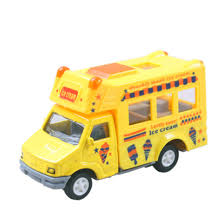 100 Toy Ice Cream Truck Die Casts Model S With Pullback Action For Baby
