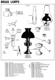 Aladdin Oil Lamps No 23 by Aladdin 23 Exploded View