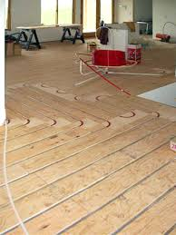 Pex Radiant Floor Heating by Radiant Heated Floor Installation With Thermofin U And Pex Tubing
