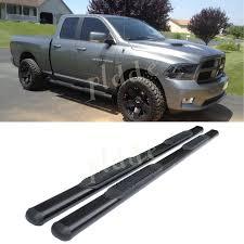 100 Small Dodge Trucks Amazoncom PLDDE 2pcs 4 Oval Tube Black Carbon Steel Side Step