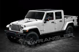 Upcoming Jeep Wrangler-Based Pickup Will Offer Diesel Power - Motor ...