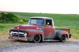 100 Pickup Truck Sleeper Cab The Ultimate 1956 Ford F100 With SmallBlock V8 Power
