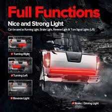 Amazon.com: MICTUNING 60 Inch 2-Row LED Truck Tailgate Light Bar ... Obd Genie Cdrl Daytime Running Lights Programmer For Chrysler Dodge Spyder Free Shipping I Want To Put Running Lights On My Truck Help Cummins Tail Led Light Bar Spec D Motorcycle Pair Dualcolor Cob Led Car Daytime Fog Lamp Ford 201518 Board Premium F150ledscom 5 Smoke Roof Cab Marker Coverxenon White T10 Led Ford F150 Questions 2013 Electrical Cargurus Csnl 1 Set For Toyota Hilux Revo Rocco 2018 Drl Tundra Daytime Running Lights System Tundra Forum