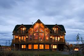 Lakeside Cabin Plans by The Log Home Floor Plan