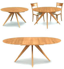Round Dining Table With Extensions The Most Room Tables Extension