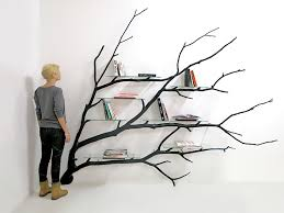 100 Tree Branch Bookshelves Artist Transforms A Fallen Tree Branch Into A Unique And
