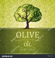 Olive tree on vintage paper Olive oil Vector olive tree For labels