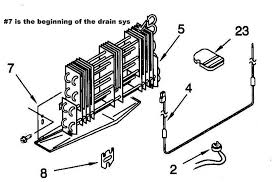 Whirlpool Ice Maker Leaking Water On Floor by Refrigerator Leaking Appliance Aid
