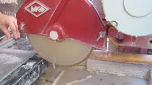 mk 101 tile saw by mk diamond in action youtube