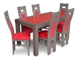 esstisch sitzgarnitur tisch 6 stühle stuhl set esszimmer garnituren design sets