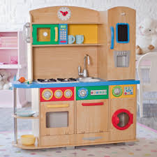 Play Kitchens For Girls Kidkraft Kitchen Costco Large And Kidcraft Plus Rustic Timer