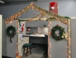 Christmas Office Decorating Ideas For The Door by Christmas Office Decorations Ideas