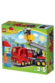 LEGO | Duplo Fire Truck 10592 | Myer Online Lego Duplo 5682 Fire Truck From Conradcom Amazoncom Duplo Ville 4977 Toys Games City Town Fireman 2007 Sounds Lights Lego Station Funtoys 10592 Ugniagesi 6168 Bricks Figurines On Carousell Finnegans Gifts Baby Pinterest Trucks Year 2015 Series Set Fire Truck With Moving 10593 5000 Hamleys For And 4664