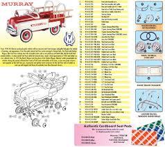 Pedal Car Parts, Murray® Sad Face Tailgate