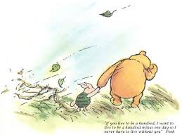 Winnie The Pooh Quotes Pooh by If You Live To Be A Hundred Winnie The Pooh Quoteclassic Winnie