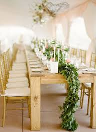 Table Length Garland Centerpiece