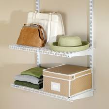 7x7 Rubbermaid Shed Menards by Rubbermaid Configurations Add On Closet Shelf Kit White Hayneedle