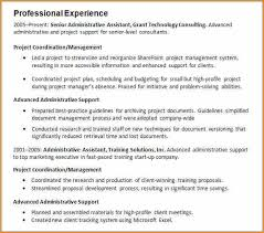 How To Write A Work Experience In Cv 8