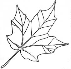 Free Coloring Pages Maple Leaf Printable For Kids Throughout The Most Elegant