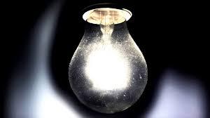 Light bulb vintage spark Halloween down A vintage light bulb