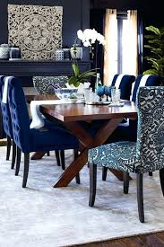 Wonderful Navy Dining Room Blue Furniture Best Rooms Ideas On