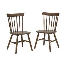 Wylon Light Oak Side Chairs (Set Of 2)