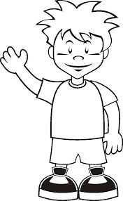 Boy Coloring Page 30054