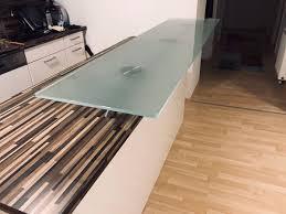 glasplatte küchen insel küchen bar in 1220 kg kagran for