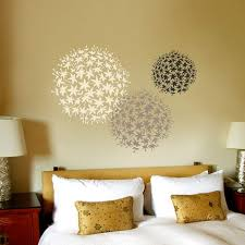Remarkable Design Large Wall Stencils For Painting Flower Stencil