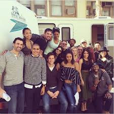 on set pictures the hit the floor cast is a family that stays
