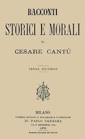 Racconti Storici E Morali Di Cesare Cantu